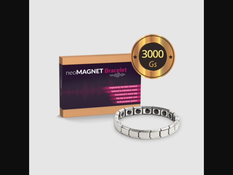 NEOMAGNET BRACELET - pain - bracelet - COD / SS - new creative available – DK – CPA