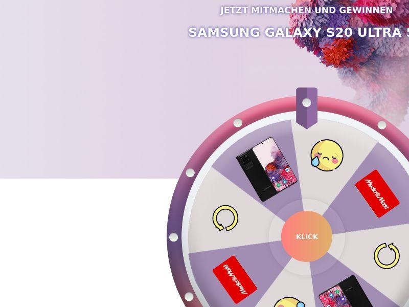 Samsung Galaxy S20 Ultra 5G + Prelander - DE