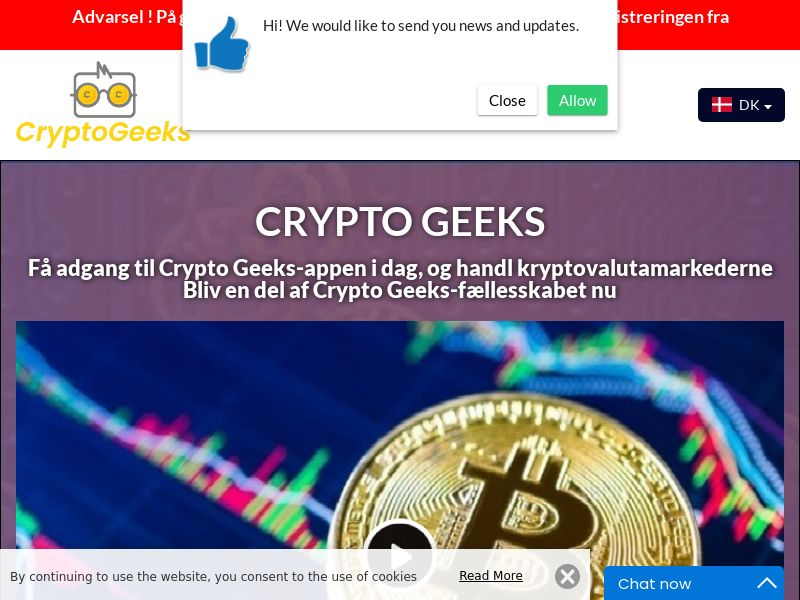 Crypto Geeks Danish 4155