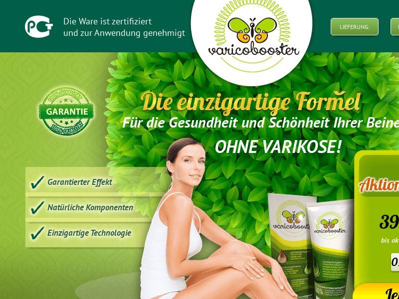 Varicobooster DE — varicose vein cream