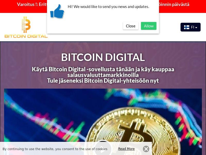 Bitcoin Digital Finnish 4073