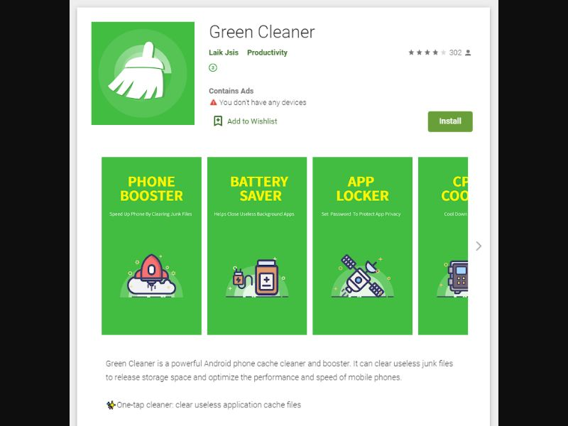 Green Cleaner Direct US [US] - CPI