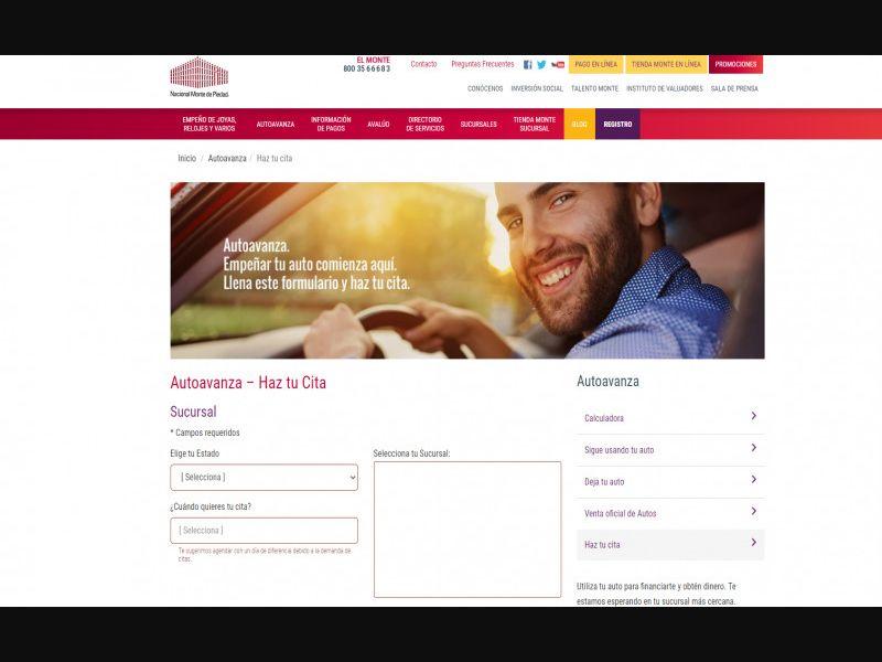Monte Piedad - Autoavanza- Loans - CPL