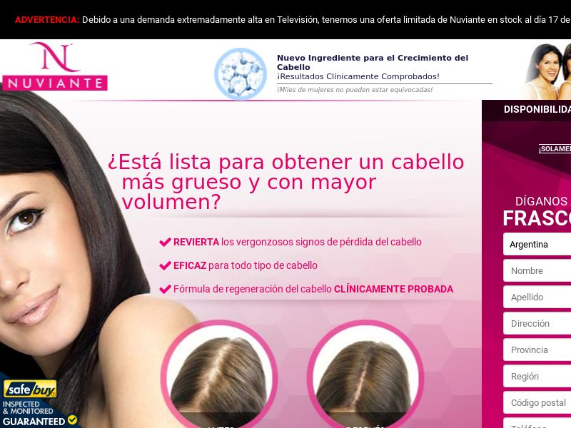 Nuviante LP02 Step1 - SPANISH - (Hair)