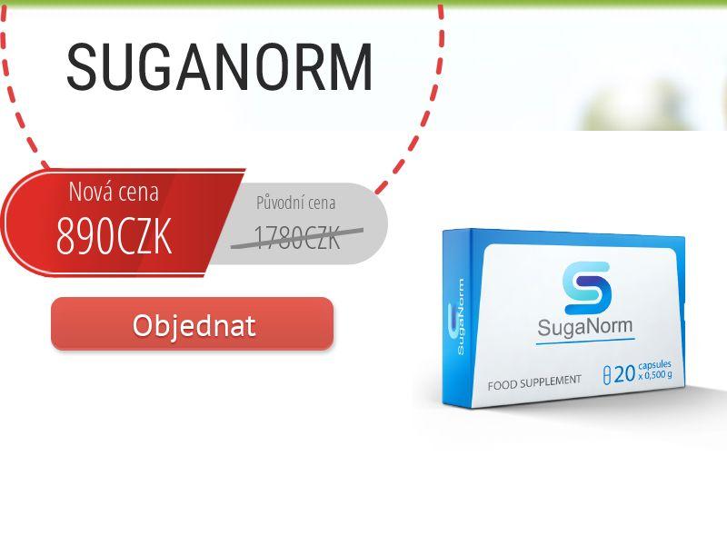 SugaNorm CZ - sugar control supplement