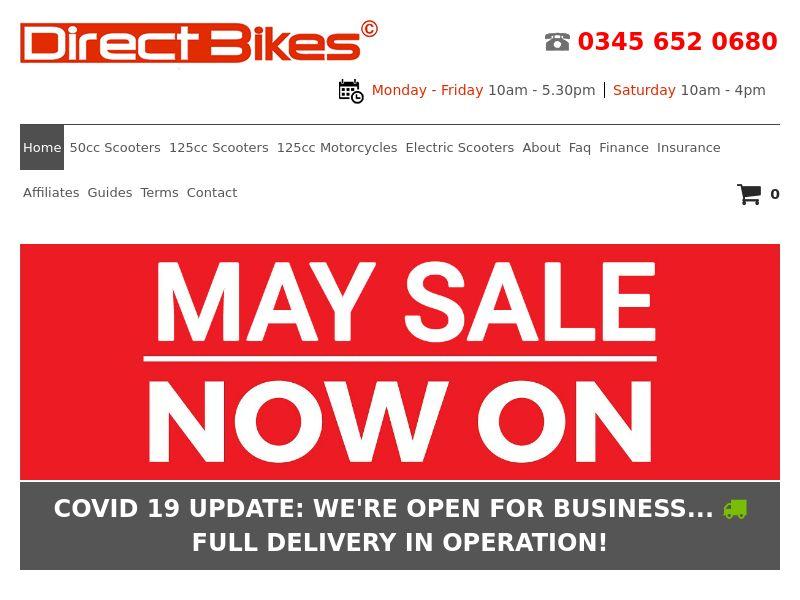 DirectBikes - UK (GB), [CPA]