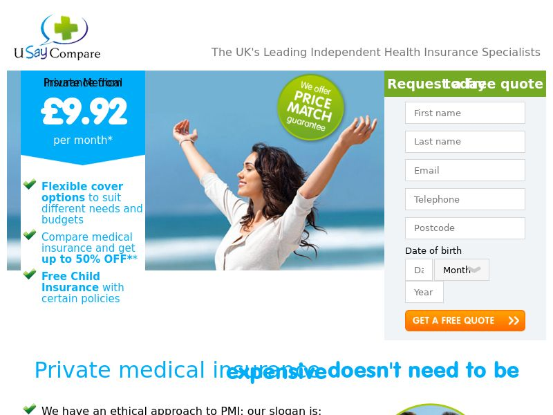 UK - Usay Compare (Private Medical Insurance)