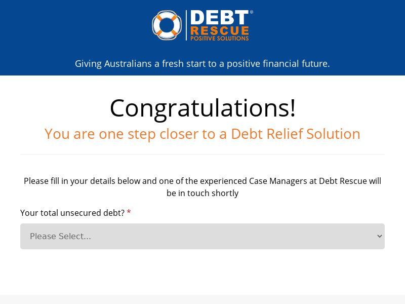 AU - Debt Rescue - CPL