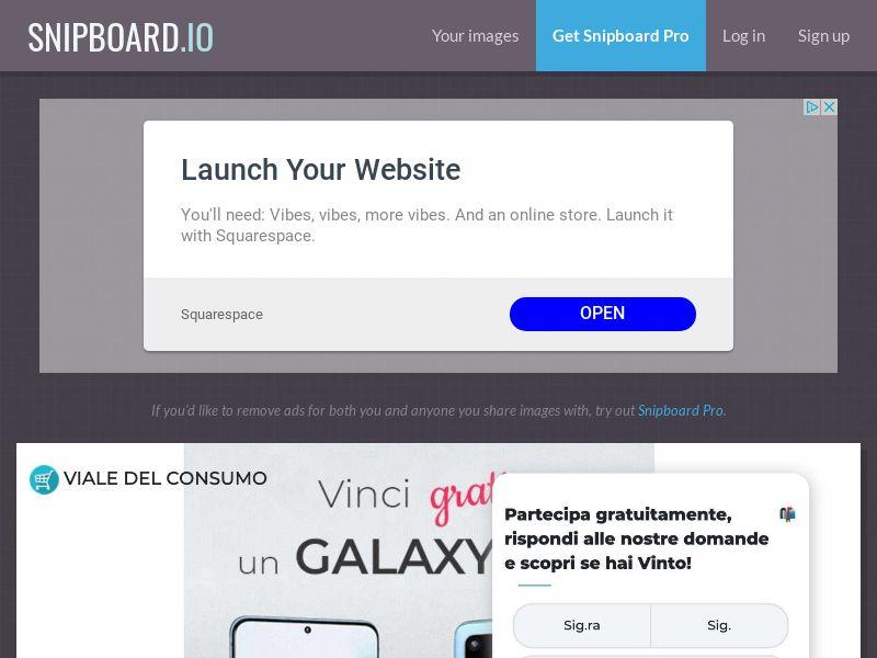 Viale del Consumo - Samsung Galaxy S20 IT - SOI