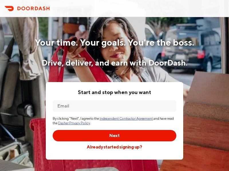 DoorDash Driver Acquisition Program