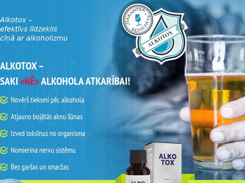 ALKOTOX LV - alcoholism treatment product