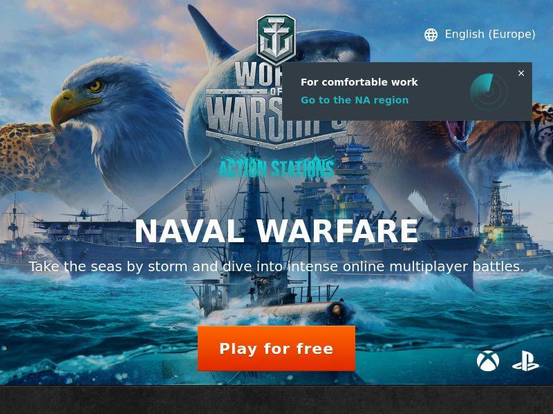 World Of Warships - JP - Display