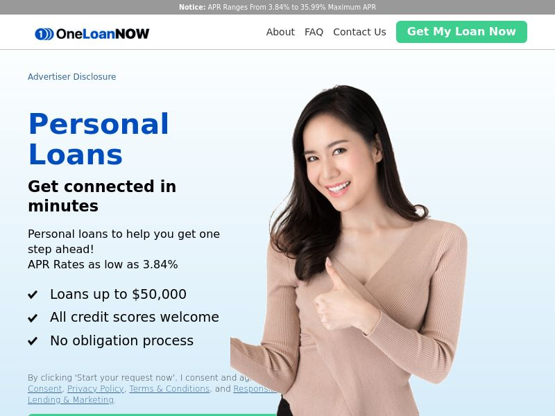 OneLoanNow (US) (CPL) (Personal Approval)