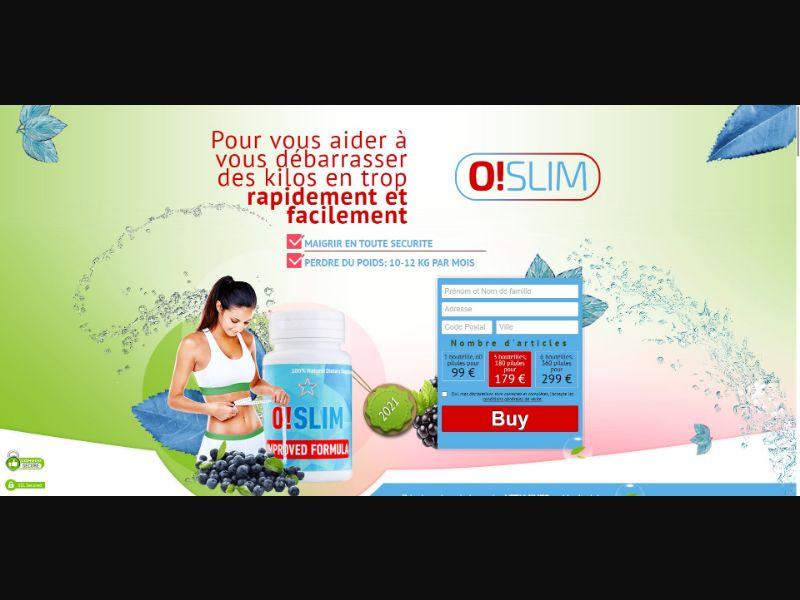 O!Slim - Diet & Weight Loss - SS - [FR]