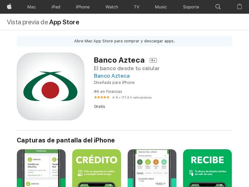Banco Azteca MX iOS CPA APPNAME