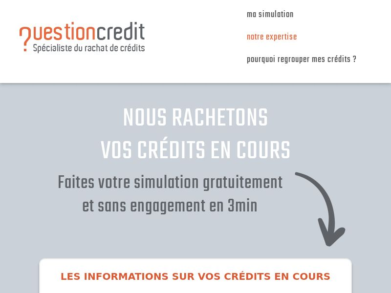 11144) [EMAIL] RAC Question Crédit - FR - CPL