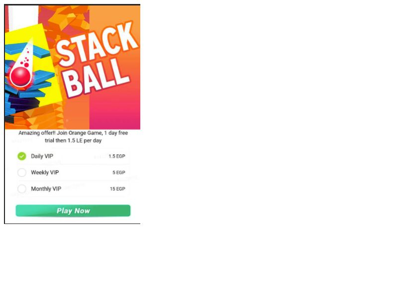 Stack Ball Orange