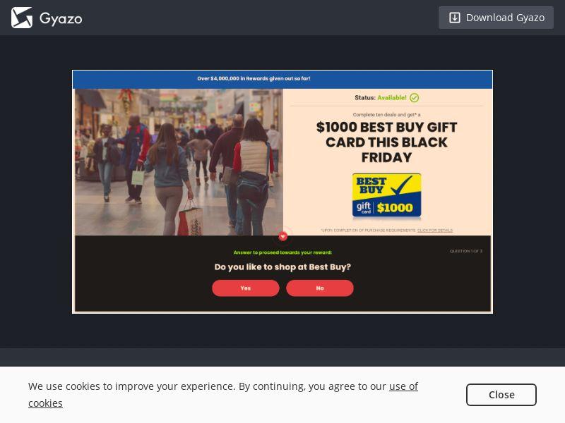 S&P - Best Buy $1000 Black Friday US | CPL