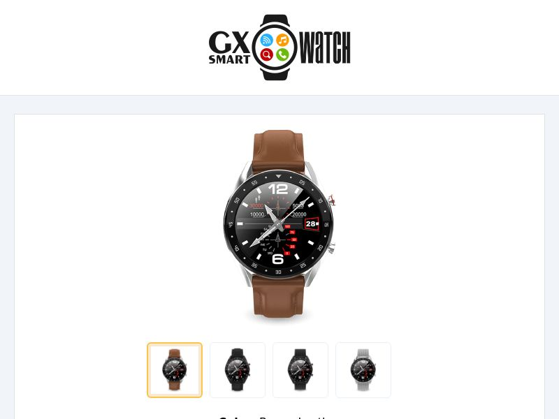GX SmartWatch [INTL] (Native,Social,Banner,SEO,Search) - CPA {No Email}