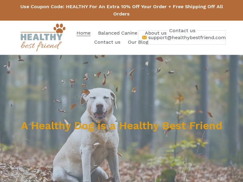 US - Healthy Best Friend Pet