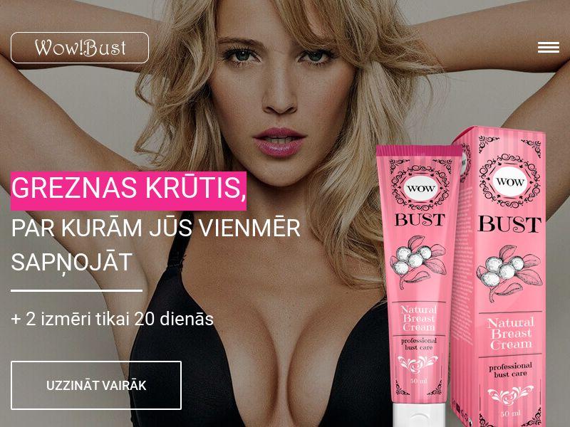 Wow Bust LV - breast enhancement cream
