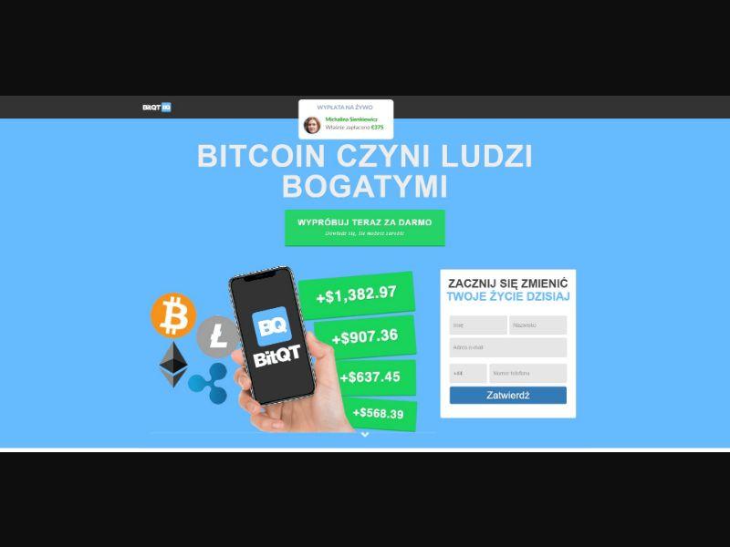 BitQT - £250 min CTC - Crypto - SS - [PL]