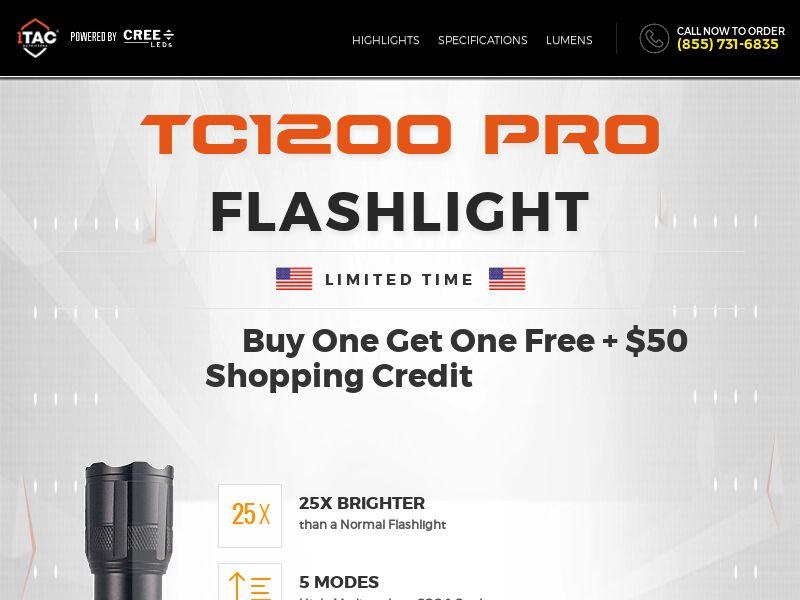 1Tac - TC1200 - Direct Response - US