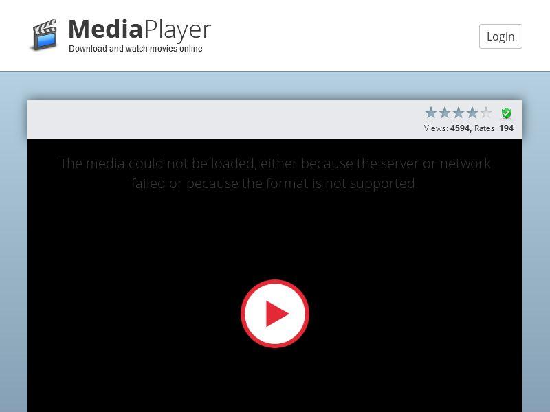 mediaplayer24.ml (MultiGeo), [PPI], Entertainment, Movies & VOD, Install, cinema, tv, series, film, stream