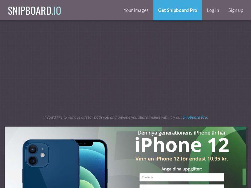 41490 - SE - iPhone 12 - LP57 - (SE) - CC submit