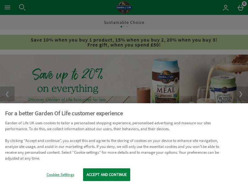 Garden of Life Many GEOs