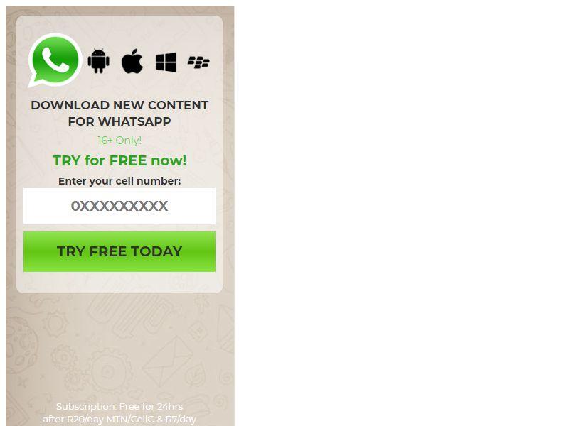 Content Whatsapp Vodacom