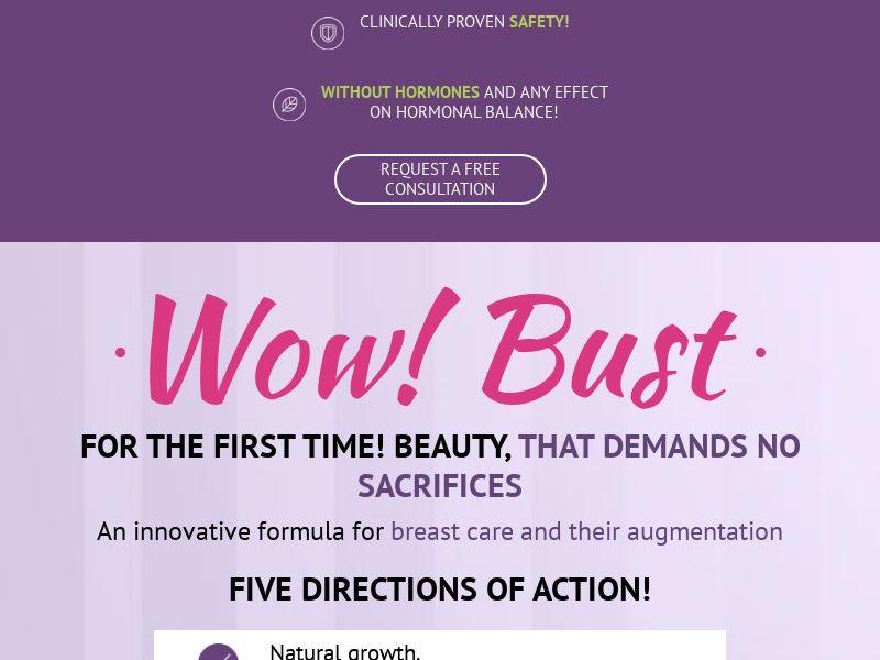Wow Bust SG - breast enhancement cream