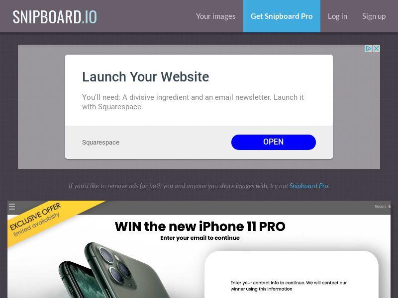 YouSweeps - iPhone 11 Pro NO - SOI