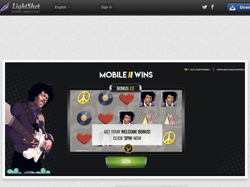 Mobile Wins Casino (UK) (CPS) (Personal Approval)