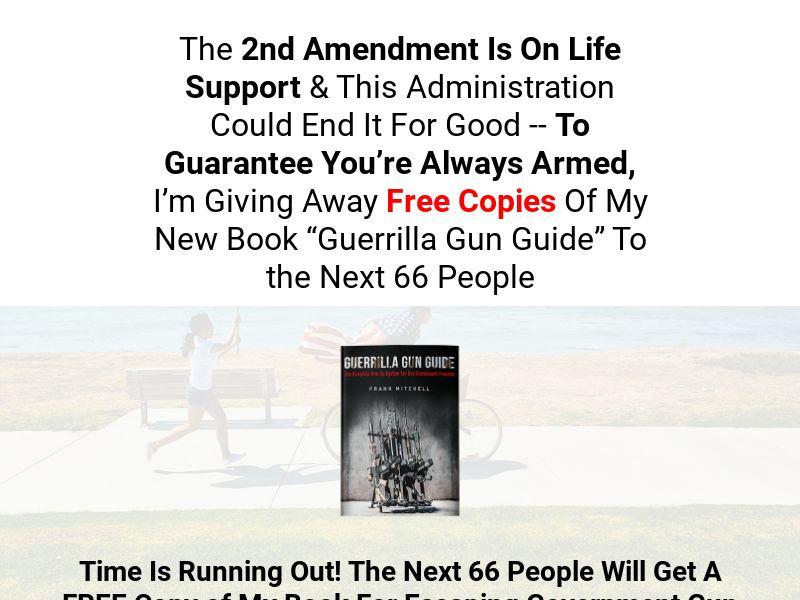 Free Guerrilla Gun Guide eBook [US] (Email,Social,Banner,Native,Push,SEO,Search) - CPA