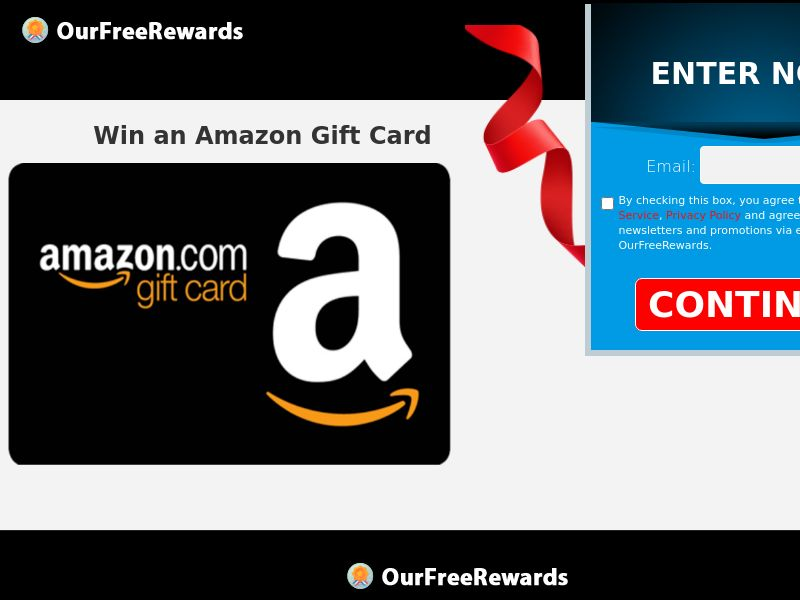 OurFreeRewards.com - Amazon Gift Card (Email,Native,Search,Banner,Social,Push) - CPL