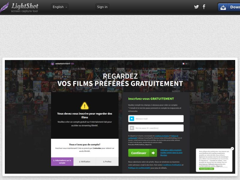 EntertainmentLab - Watch Favorite Movies Free - INCENT - INTL