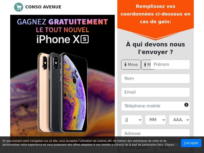 iPhone XS [FR]| SOI | Responsive