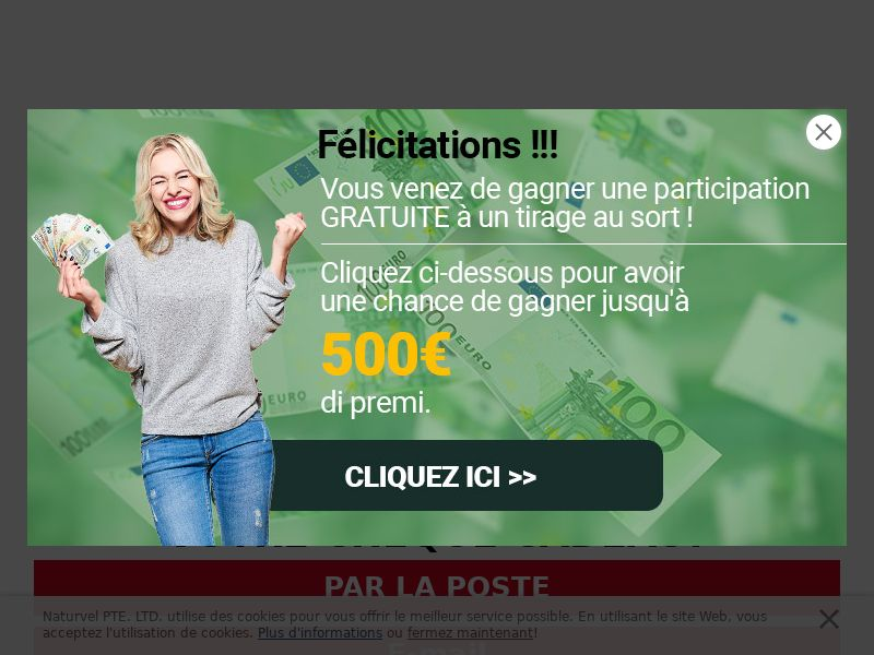 Sweepstakes Nike 250€ - CPL - [BE | French speaking]