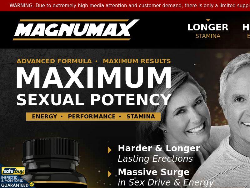 Magnumax Male Enhancement (CPS) - AU, NZ, ZA, IE, IN, SG, MY, PH