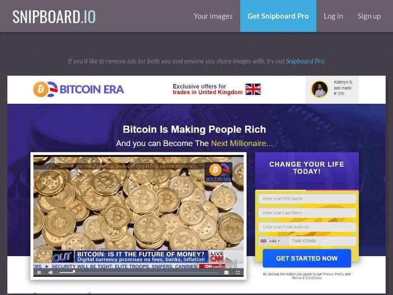 39893 - CH - Crypto - Bitcoin ERA - (CH) - FTD (min $250)