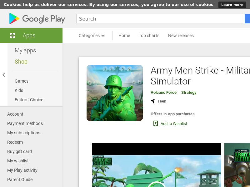 Army Men Strike - Military Strategy Simulator - US- Android