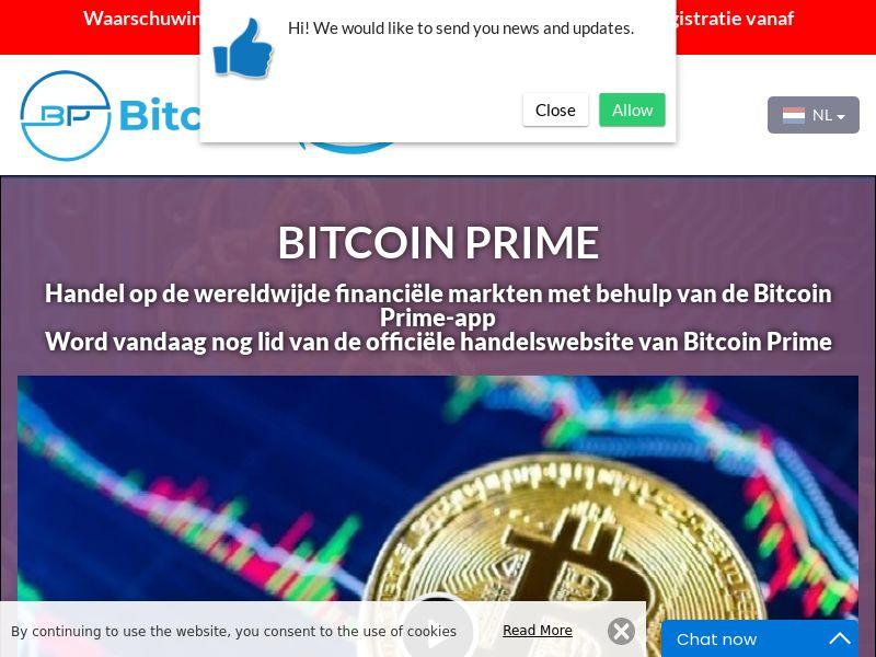 Bitcoin Prime Dutch 2601