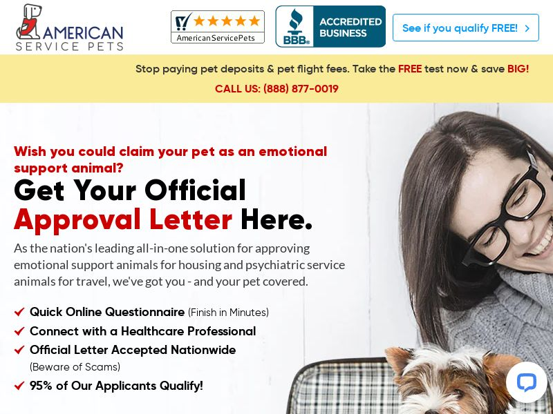 American Service Pets - US - CPA - DIRECT
