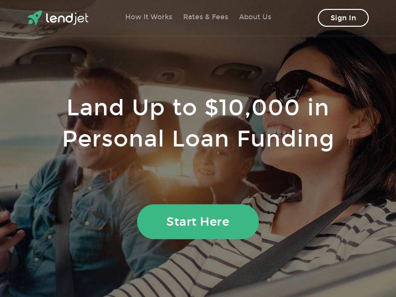 LendJet US (WEB) Non Incent