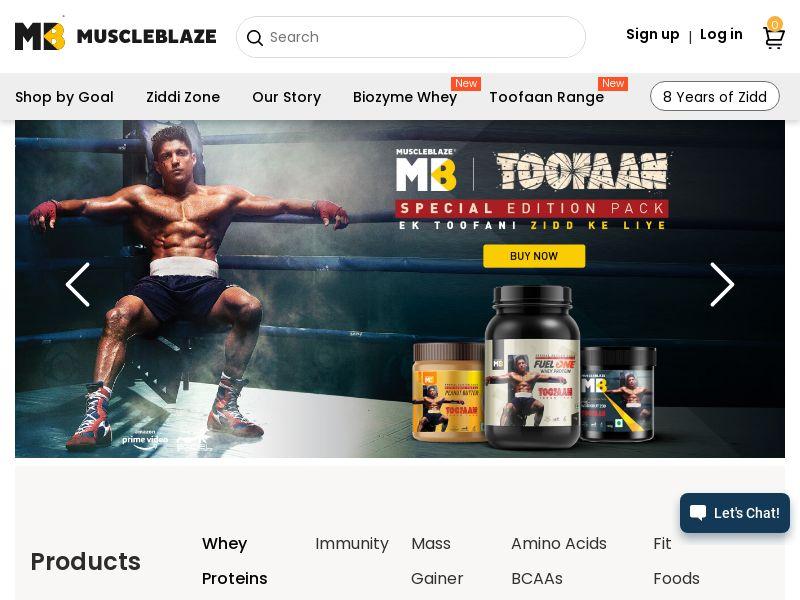 Muscleblaze.com CPS - India