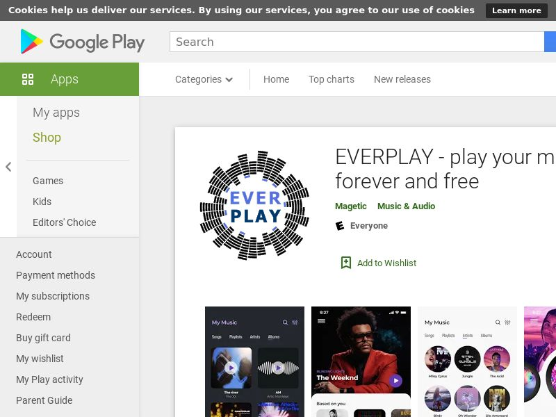 EVERPLAY Android - SI