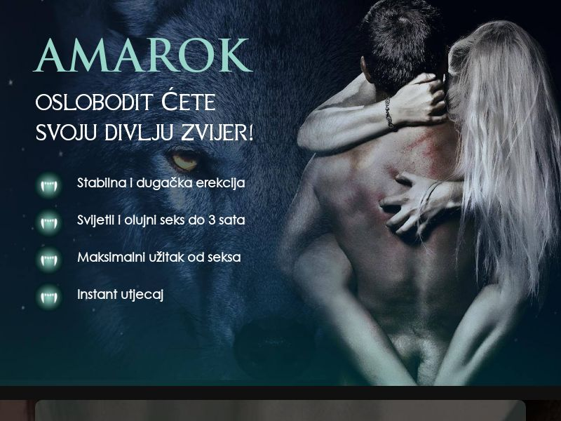 Amarok HR - potency treatment product