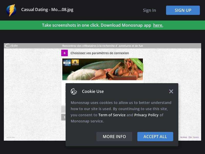 France (FR) - C-Date - Casual Dating - Desktop