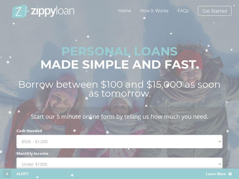 Zippy Loan - CA, US